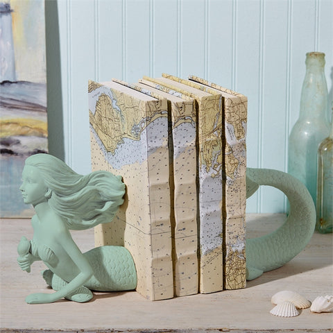 Deep Sea Mermaid Bookends - Two's Company
