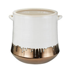 Metallic Alloy Drip Crock - Dimond Home