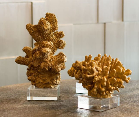 Golden Reef Sculpture, Large - Two's Company