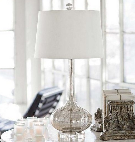 Milano Antique Glass Lamp - Regina Andrew