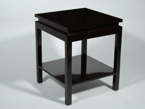 Ming Style Side Table, Brown - Pacific Connections