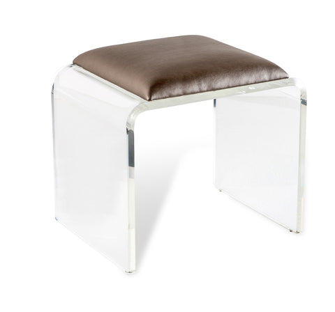 Mira Acrylic Stool - Interlude Home