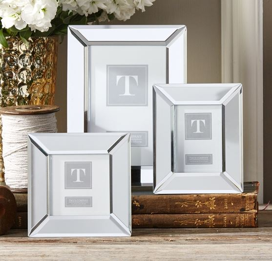 Mirrored Frame - Two\'s Company | Luxe Home Philadelphia