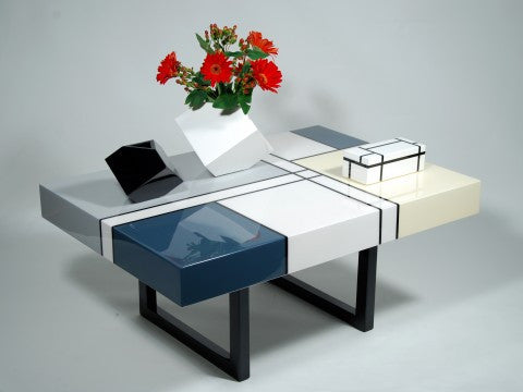 Mondrian Coffee Table - Pacific Connections