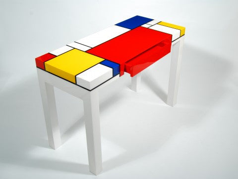 Mondrian Console Table - Pacific Connections