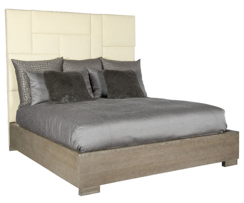 Mosaic Upholstered Queen Bed - Bernhardt Furniture