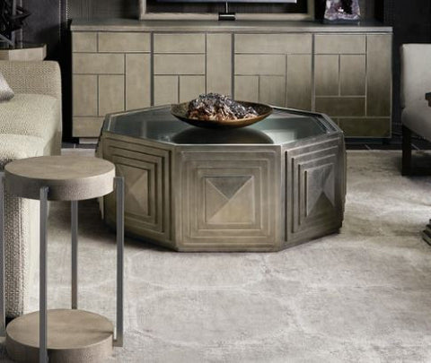 Mosaic Round Cocktail Table - Bernhardt Furniture