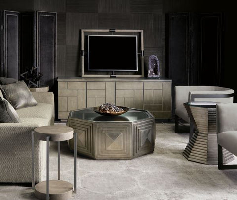 Mosaic Entertainment Console   Bernhardt Furniture