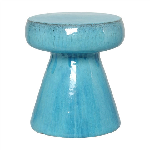 Mushroom Stool Table Blue - Emissary