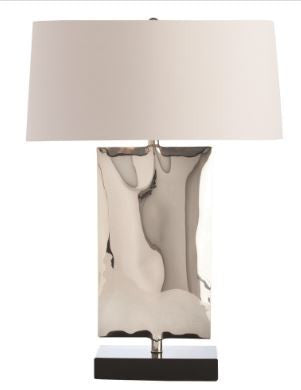 Navarro Lamp, Nickel - Arteriors Home