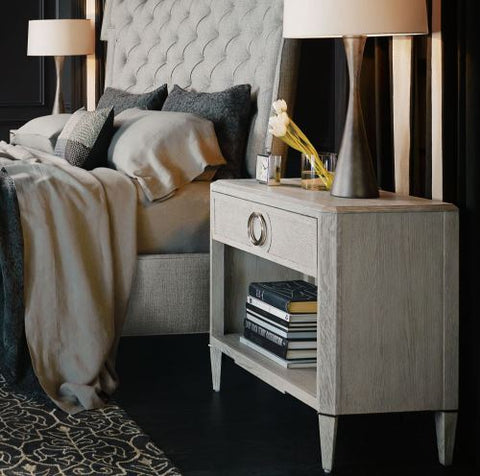 Domaine Blanc Nightstand - Bernhardt Furniture