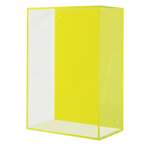 Neon Hanging Acrylic Box, Green - Gold Leaf Design Group