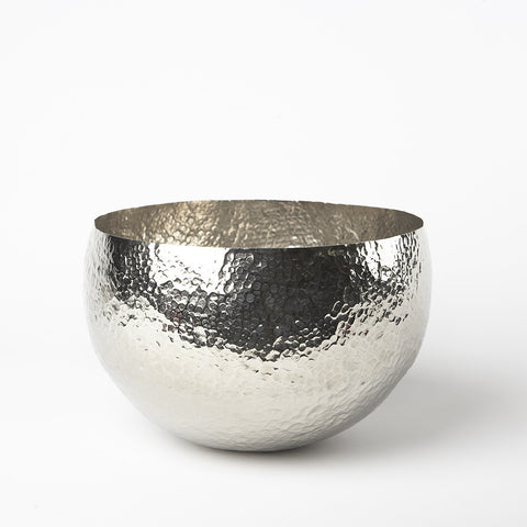 Small Hammered Nickel Bowl - Dimond Home