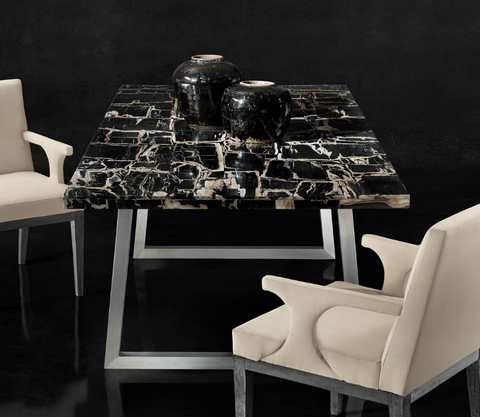 Pierre Noire Dining Table - Bernhardt Interiors