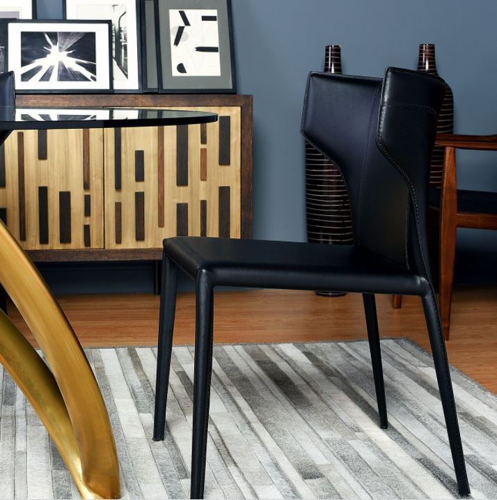 Wayne Leather Dining Chair   Nuevo Living