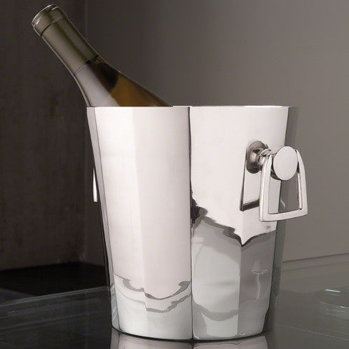 Octagonal Ice Bucket With Handles - Global Views