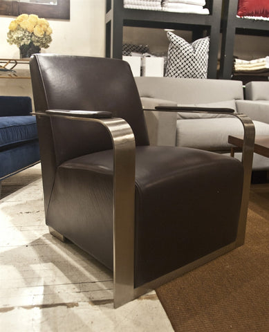 Ariana Accent Chair Brown - Bellini Modern Living