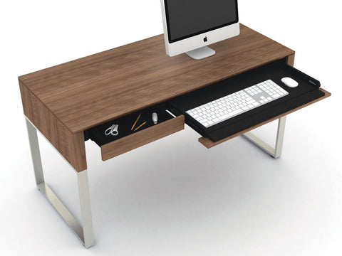 Cascadia Desk 6201 w/ 2 Reversible Drawers - BDI