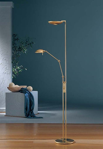 Halogen Torchiere Floor Lamp - Holtkoetter