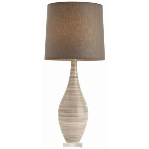 Hunter Striped Ceramic Lamp - Arteriors Home