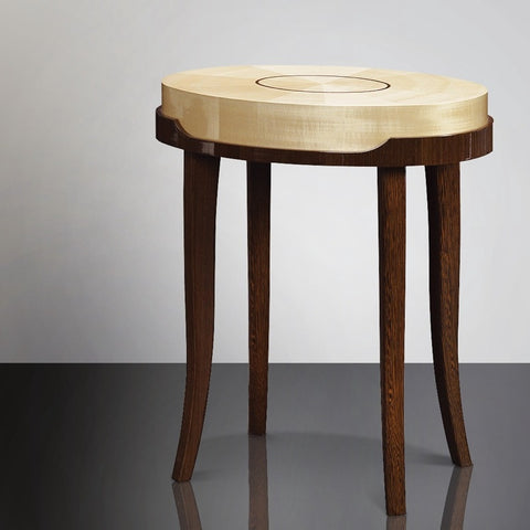 Opera Oval Side Table - Matsuoka International