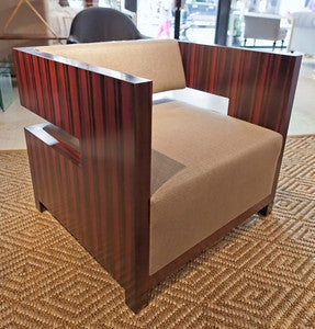 Domicile Cube  Chair - Bolier & Company