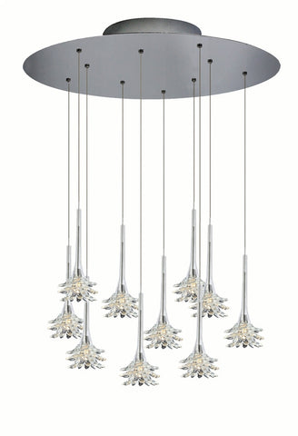 Mimosa Clear Chandelier - Oggetti