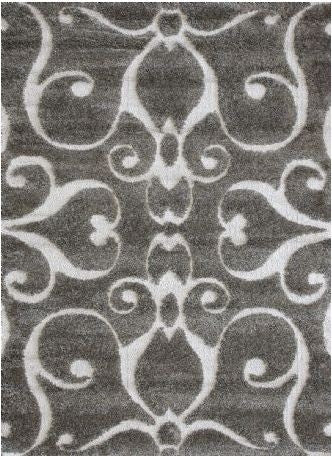 Enchant Smoke Rug 2' x 4' - Loloi