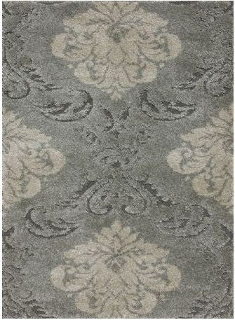 Enchant Smoke-Beige Rug 2' x 4' - Loloi