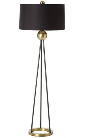 Hadley Antique Brass Lamp - Arteriors Home