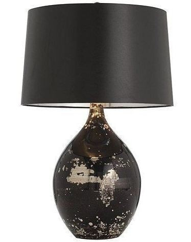 Flynn Mercury/Black Reactive Glass Lamp - Arteriors Home