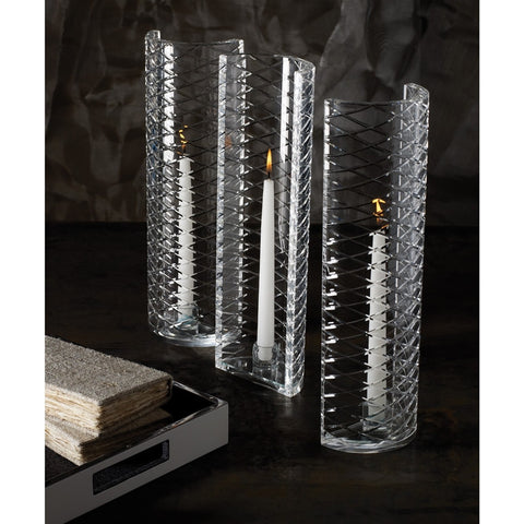 Lattice Etched Candleholder - Dimond Home