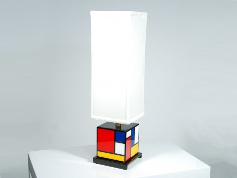 Mondrian Cube Lamp - Pacific Connections