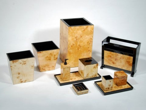 Mappa Burl Business Card Box - Pacific Connections