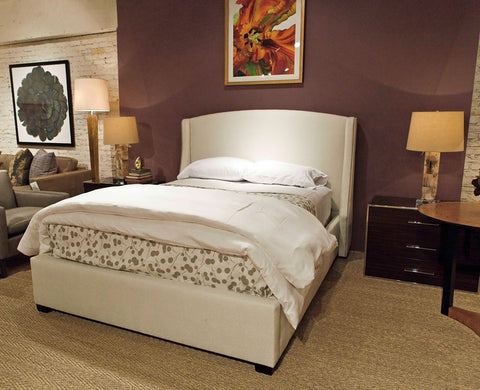Cooper Wing Queen Bed - Bernhardt Interiors