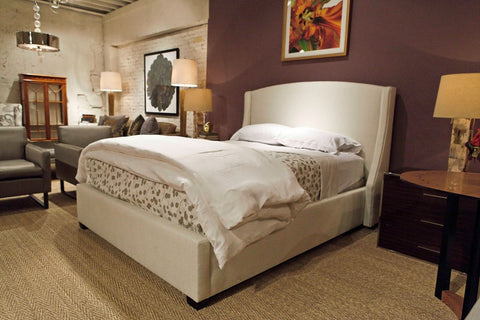 Cooper Wing Queen Bed - Bernhardt