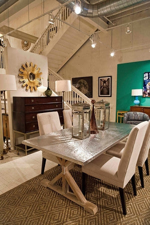 Transitional Quentin Dining Table - Bernhardt Interiors