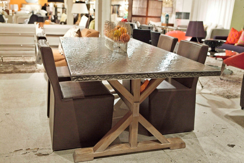 Transitional Quentin Dining Table   Bernhardt