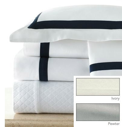 Sedona Pillow Case Ivory/ Pewter - Legacy Home