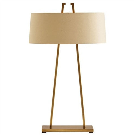 Dalton Satin Brass Lamp - Arteriors Home
