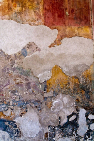 Faded Wall No. 2 Aluminum- Florence, Italy - Sylvie Rose Spewak