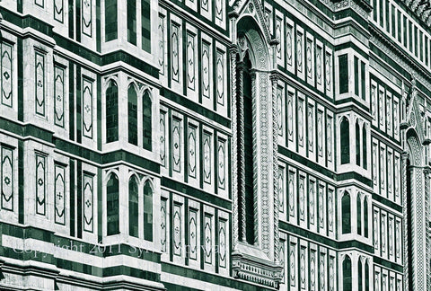 Duomo, View No. 5 Aluminum- Florence, Italy