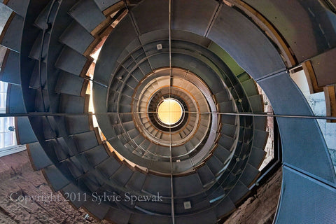 Spiral Staircase Aluminum- Glasgow, UK - Sylvie Rose Spewak