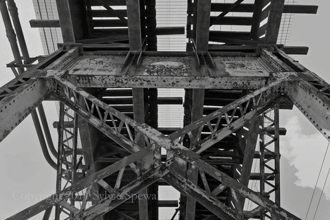 Under The Trestle Bridge Aluminum - Philadelphia, PA - Sylvie Rose Spewak