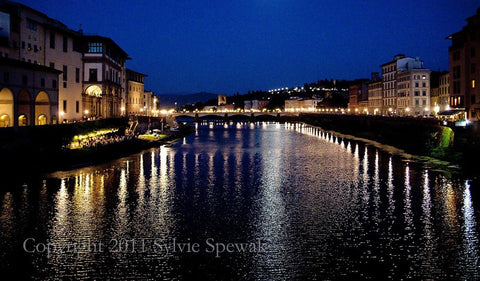 Arno at Dusk - Florence, Italy
