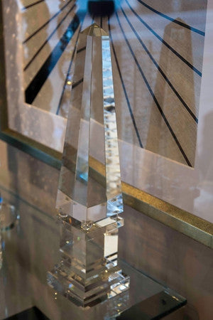 Large Crystal Obelisk Accessory - Regina-Andrew Design