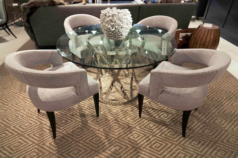 Gustav Round Dining Table - Bernhardt Interiors