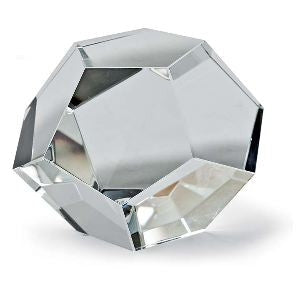 Small Crystal Dodecahedron - Regina-Andrew Design
