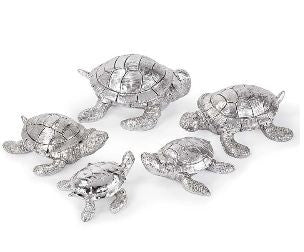 Set of Silver Turtles - Regina-Andrew Design