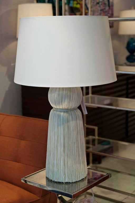 Tassel ivory table lamp arteriors home luxe home philadelphia tassel ivory table lamp arteriors home aloadofball Image collections